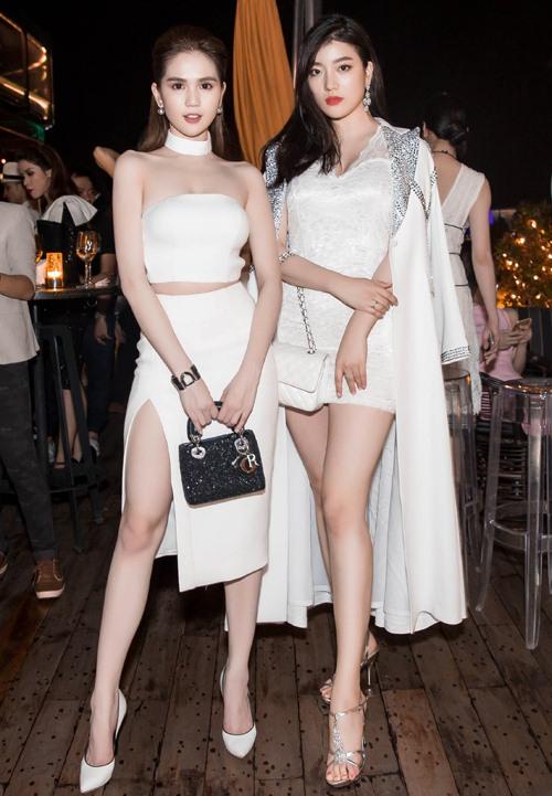 Ngọc Trinh đọ vẻ nóng bỏng với Hoa hậu Hàn Quốc-2