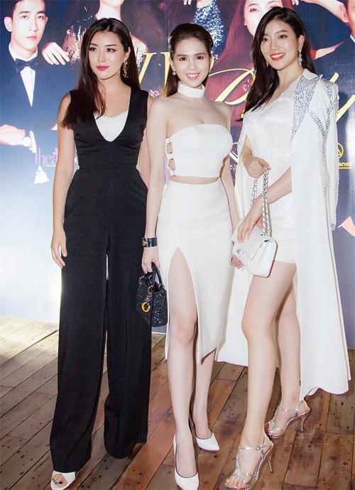 Ngọc Trinh đọ vẻ nóng bỏng với Hoa hậu Hàn Quốc-3