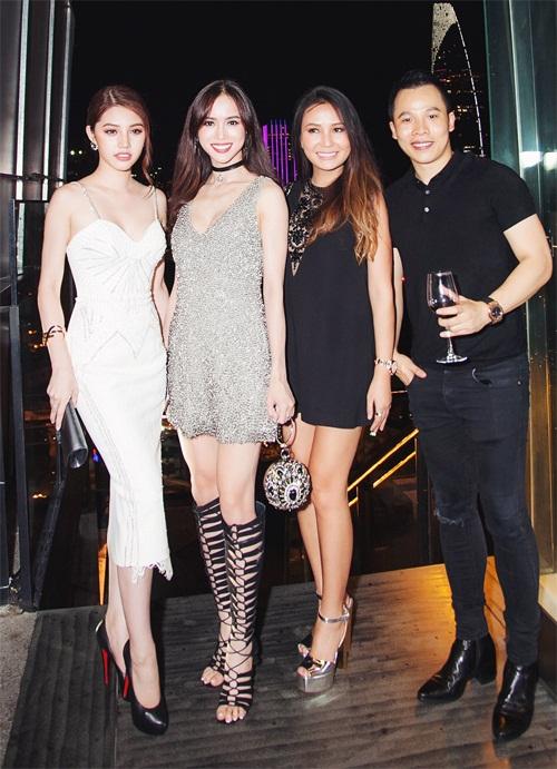 Ngọc Trinh đọ vẻ nóng bỏng với Hoa hậu Hàn Quốc-9