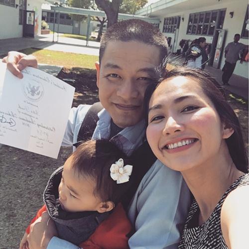Chồng đại gia hạnh phúc khi con trai Kim Hiền nhận bằng giỏi-9