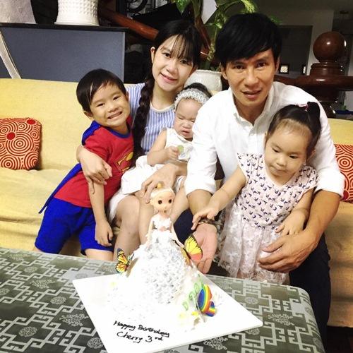 Con gái Lý Hải - Minh Hà cười khoái chí đón tuổi lên 3-1