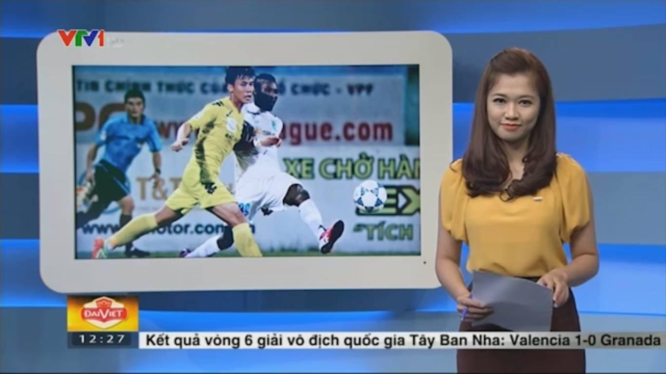 Nữ biên tập viên thể thao nổi nhất Việt Nam mặc gì khi lên sóng?-9