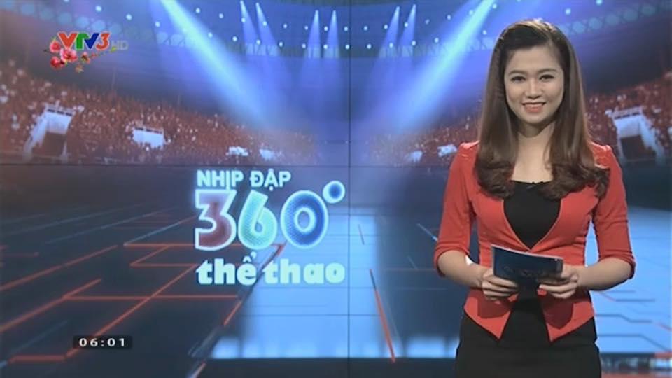Nữ biên tập viên thể thao nổi nhất Việt Nam mặc gì khi lên sóng?-5