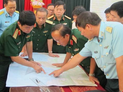 mat lien lac voi 1 may bay tim kiem phi cong su-30mk2 - 4