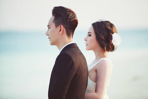 """Ảnh cưới lãng mạn tại Maldives của """"hot girl dao kéo""""-5"""