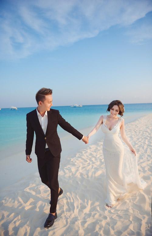 """Ảnh cưới lãng mạn tại Maldives của """"hot girl dao kéo""""-11"""