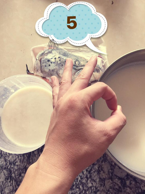 Chàng ca sĩ trẻ tự làm sữa gạo, cháo cá hồi cho vợ sau sinh-5