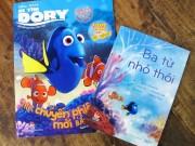 """Xem & Đọc - Bộ ấn phẩm """"Đi tìm Dory"""": Món quà hè ý nghĩa dành cho bé"""