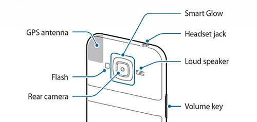 """Smartphone Samsung sẽ có tính năng thông báo tuyệt hay """"Smart Glow""""-2"""