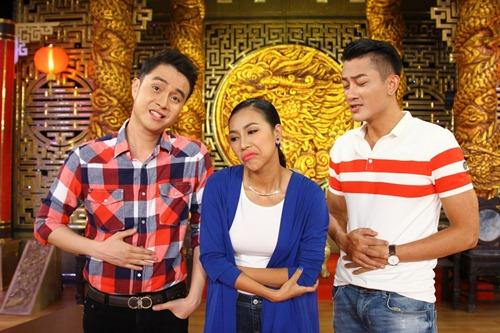 "truong giang dieu dung vi ""chi em sinh doi"" dieu linh - nam em - 13"