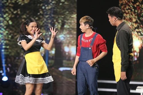 "cuoi xuyen viet tap 4: ""hot boy xoai lac"" lai gay sot, thi sinh ""da xoay"" ngoc trinh - 18"