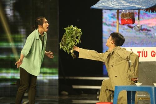 """Cười xuyên Việt tập 4: """"Hot boy xoài lắc"""" lại gây sốt, thí sinh """"đá xoáy"""" Ngọc Trinh-8"""