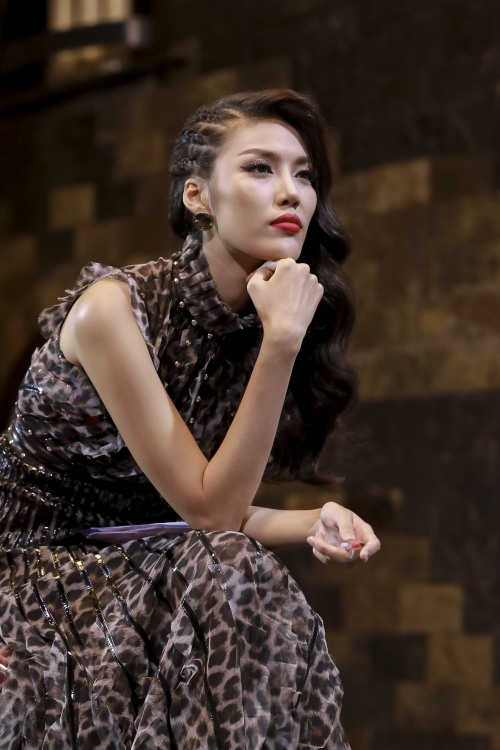 Phạm Hương, Lan Khuê khẩu chiến ngay trên sóng truyền hình-4