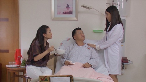 "hot girl sam dep trong treo trong ""mau chay ve tim"" - 9"