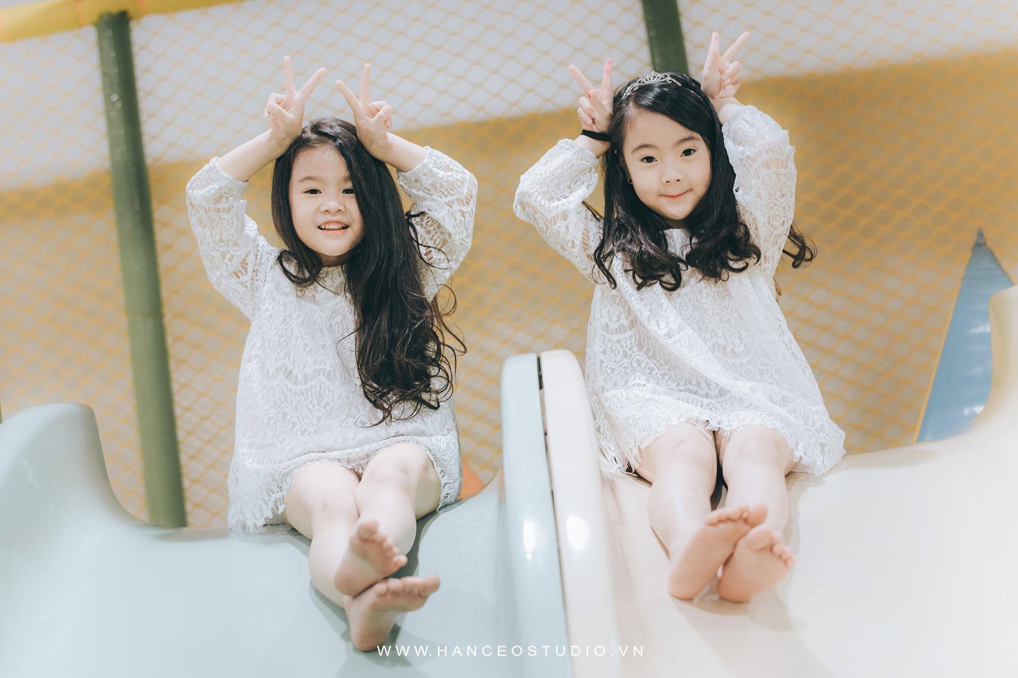 "don tim voi 2 co be hotgirl ha noi chan dai ""khong doi tuoi"" - 9"