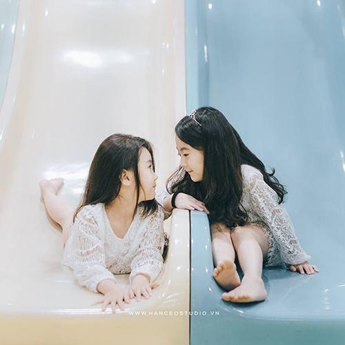 "don tim voi 2 co be hotgirl ha noi chan dai ""khong doi tuoi"" - 7"