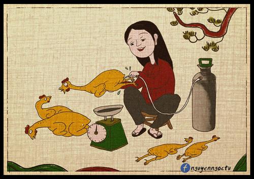 gap chang trai ve 'nhai' tranh dong ho ve thuc pham ban 'hut nghin like' - 4