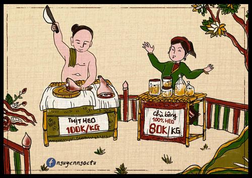 gap chang trai ve 'nhai' tranh dong ho ve thuc pham ban 'hut nghin like' - 6