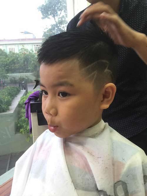 """3 kieu toc cuc hot cho be trai """"banh"""" nhu soai ca he 2016 - 3"""