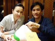 Làng sao - Bất chấp tin ly thân, Lương Triều Vỹ - Lưu Gia Linh vẫn đón sinh nhật bên nhau