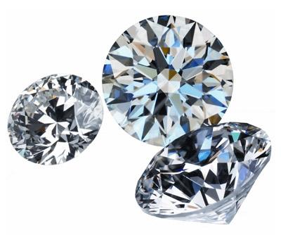 Tinh mắt phân biệt kim cương thật, giả - 1