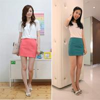 Váy juyp màu sắc cho đôi chân dài