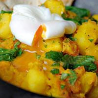Khéo tay làm bữa sáng với khoai tây và rau