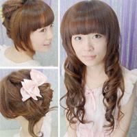 2 kiểu tóc cho bạn gái dễ thương