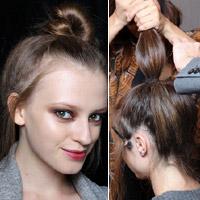 Video làm đẹp: Thời trang như tóc búi đỉnh đầu