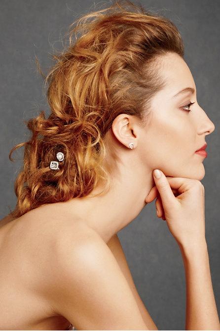 Hoa cài tóc cho cô dâu lãng mạn - 8