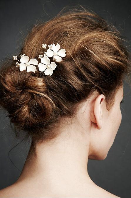 Hoa cài tóc cho cô dâu lãng mạn - 5