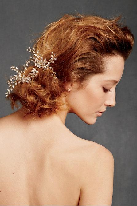 Hoa cài tóc cho cô dâu lãng mạn - 10