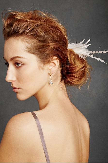 Hoa cài tóc cho cô dâu lãng mạn - 9
