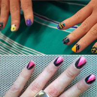 Đẹp và lạ những mẫu nail màu sắc