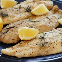 Giòn thơm cá nướng cho bữa tối