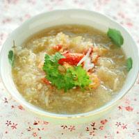 Các món súp cua hảo hạng cho bé