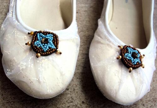'Tút' giày búp bê thành giày ren nữ tính - 6