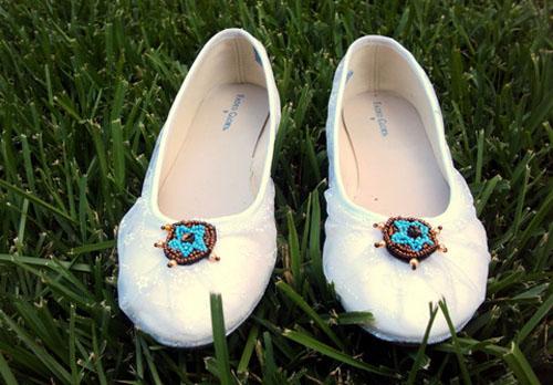 'Tút' giày búp bê thành giày ren nữ tính - 7