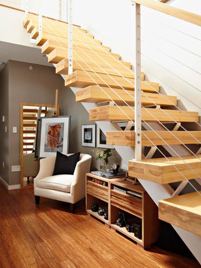 Tận dụng không gian xung quanh cầu thang - 7