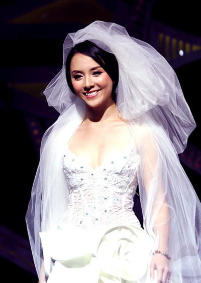 Á hậu Dương Trương Thiên Lý đã kết hôn - 1