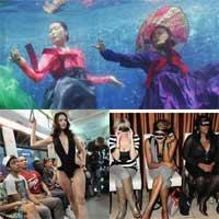 Những màn biểu diễn thời trang với ý tưởng 'trên trời'