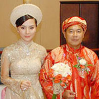 Rộn ràng đám cưới Á hậu Thiên Lý