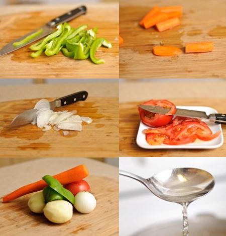 Canh khoai tây, sườn cho bữa cơm ngon hơn - 4