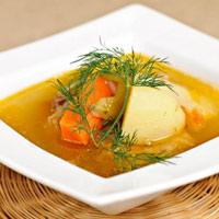 Canh khoai tây, sườn cho bữa cơm ngon hơn