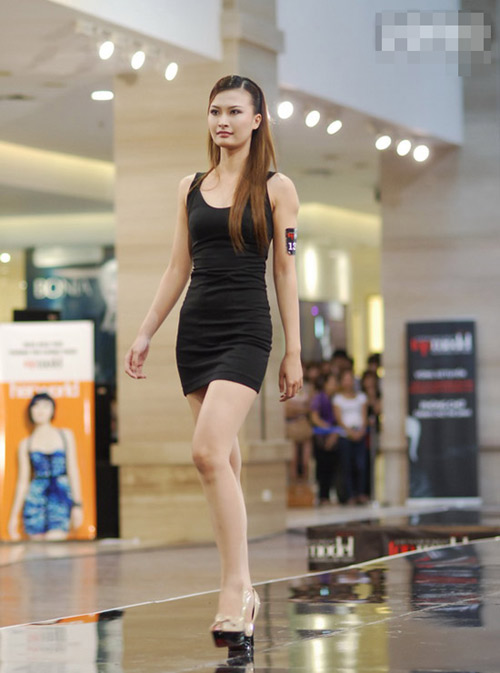 Nhng gng mt 'sng' nht vng s loi Next Top Model - 9