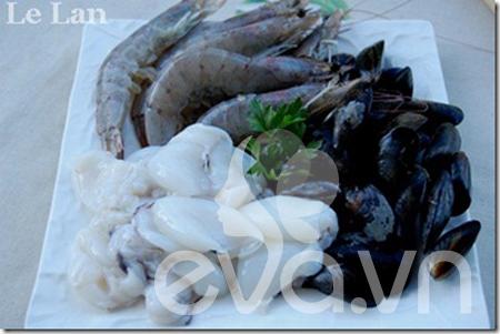 Cuối tuần làm mì Ý hải sản đãi cả nhà - 2