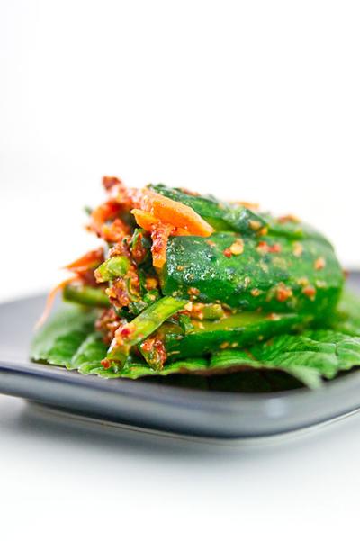 Kimchi dưa chuột đúng kiểu Hàn - 1