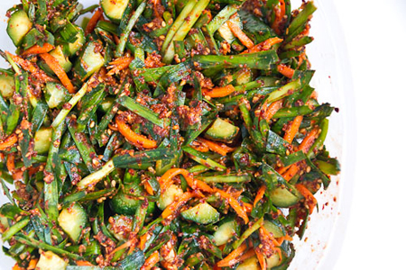 Kimchi dưa chuột đúng kiểu Hàn - 9
