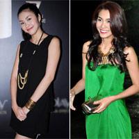 Ngắm style nhẹ nhàng nữ tính của Tăng Thanh Hà