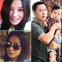 Toàn cảnh gia đình Triệu Vy tại Đài Loan